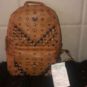 Brand new McM studded book bag